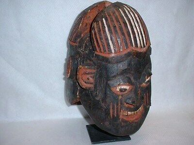 Amazing Bamun, Janus Cameroon Helmet Mask Appraised In 2005 For $1150 Free Ship
