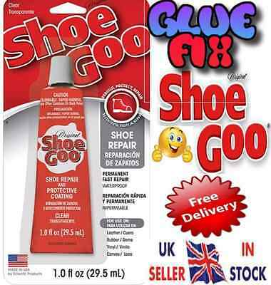SHOE GLUE OR NOZZLE GENUINE USA MEND-TRAINERS/BOOTS & ALL SHOE REPAIRS Shoe Goo