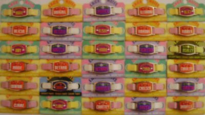 Personalised Named Boy Girl LACE MATES For Shoelaces Jewellery Making Wristbands