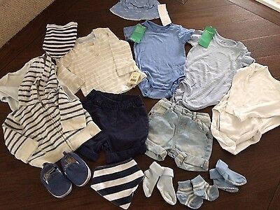 A Gorgeous Mix And Match Baby Boys  Set Of Clothes ! 6-12 Months Mainly Brandnew