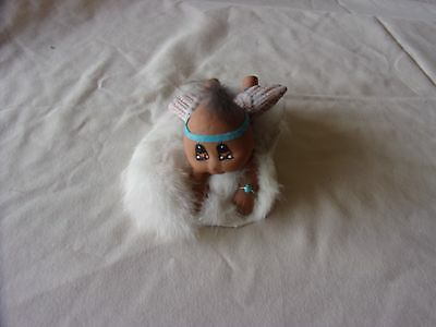 Porcelain Kokopi Baby with wings
