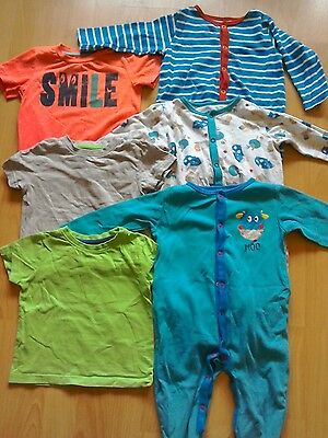 Baby boy clothes bundle 12-18 months, all from Mothercare, T-shirts, babygrows