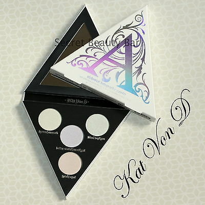 Genuine KAT VON D Alchemist Holographic Highlighting Palette for Eyes Lips Face