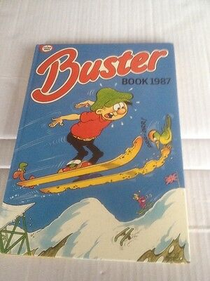 Buster Book 1987 Vintage Comic Annual