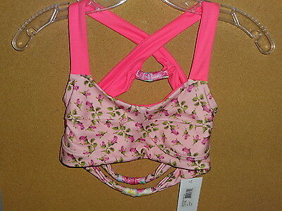 Betsey Johnson for Capezio T10719C Rev Bra Top (Reversible!)