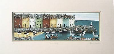 "Rebecca Lardner ""Stone Jetties"" Limited Edition Signed Print 29/50"