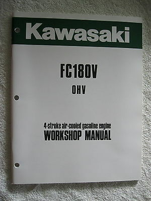 Kawasaki Fc180V Ohv Gas Engine Workshop Service Repair Manual