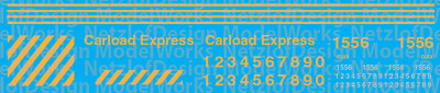 N Scale - Carload Express Switchers Decal Set (CLXX)