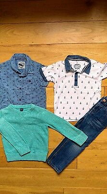 Boys tops & jeans 3-4 years