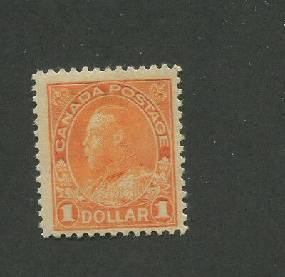 Canada 1925 King George V Admiral Issue Fine-Very Fine $1 Stamp #122 CV $143