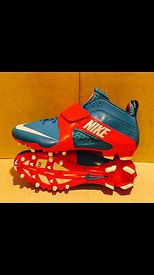 Nike Huarache 3  Lacrosse Cleats Various Blue Red Sizes 469730-416 Size 14.5