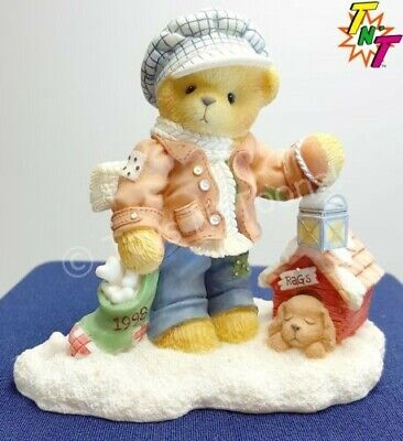 Boyd's Bears Cherished Teddies Lot (4) Misc. Figurines Damaged conditions