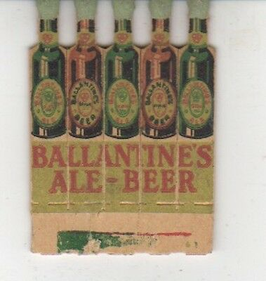 S-3 Matches - Printed Matches - Ballantine's Ale - Beer