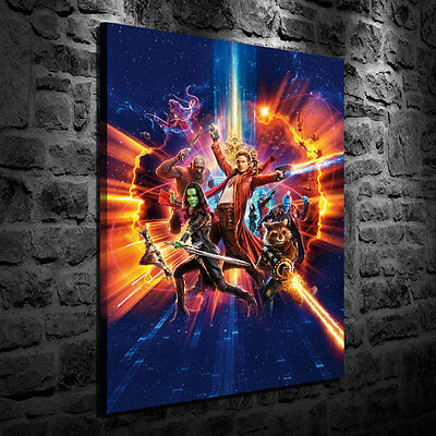Oil Painting HD Print Wall Decor Art On Canvas Guardians of the Galaxy II  24x36