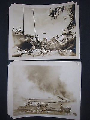 Vintage WW2 PHOTOS...lot of 2...USMC....# 567-180...5x4