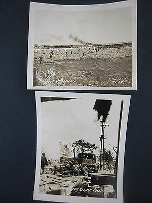 Vintage WW2 PHOTOS...lot of 2...USMC....# 567-182...5x4