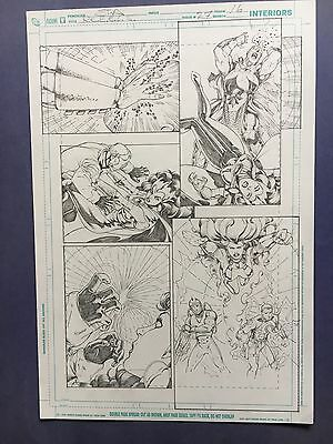 Rebels Vol. 2 #27 pg.16 June '11 Original Art by St. Aubin pencils only Starfire