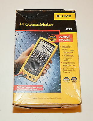 Fluke 789 Processmeter Process Meter Loop Calibrator New