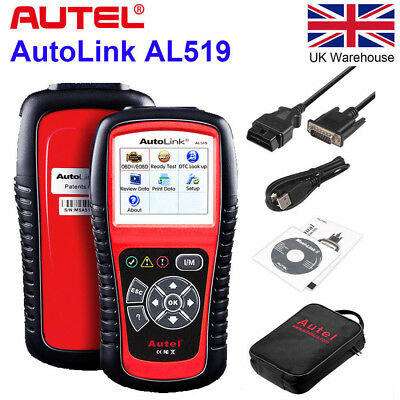 Autel AutoLink AL519 OBD2 Car Auto Diagnostic Tool CAN EOBD Code Reader Scanner