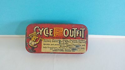 Vintage Power Plus Cycle Outfit Repair Kit with Original Contents 1940's