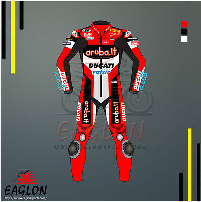 Chaz Davies Aruba.it Ducati WSBK 2017 Leather Suit