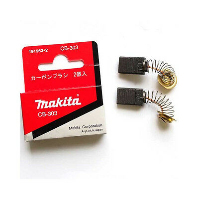 Makita CB303 Carbon Brushes replace for 9077 2107F GA5021 191963-2 POLISHER