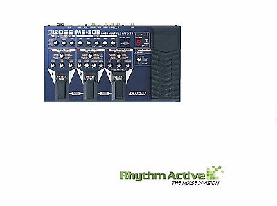 BOSS ME-50B BASS GUITAR MULTI-EFFECTS PROCESSOR/fx FOOT PEDAL BY ROLAND ME50