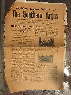 Southern Argus Newspaper