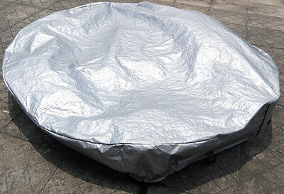 Winterwise! Round spa cover cap 240cm diameter 12 inch 30cm high