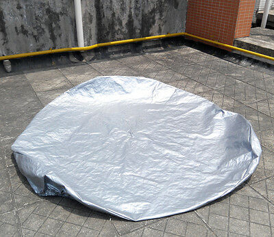 "Winterwise! Round spa cover cap 74"" 188cm diameter 12 inch 30cm high"
