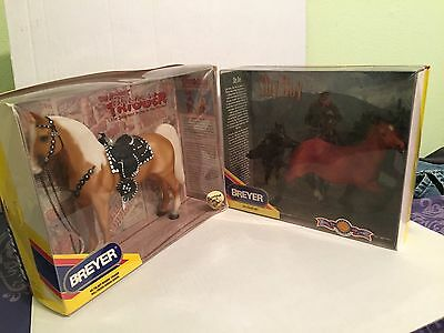 Two Breyer Horses Trigger And Shy Boy