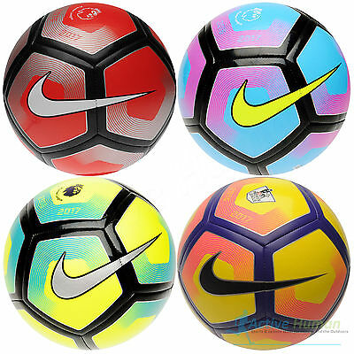 Nike 2016 - 2017 Pitch Premier League Football Size 5 Professional Ball or Pump