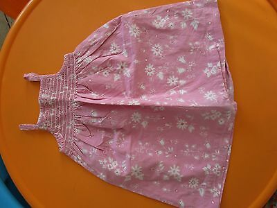 Robe À Smocks Rose Marque Boutchou Taille 2 Ans 24 Mois