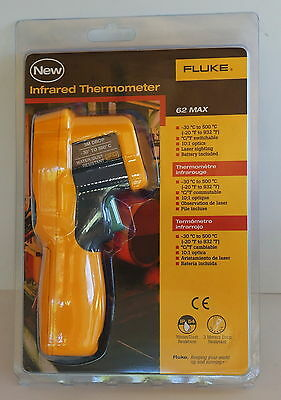 Fluke 62 Max Handheld Non Contact Infrared Thermometer Brand New!
