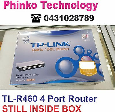 TP-Link TL-R460 10/100 4 Port Cable / DSL Wired Router