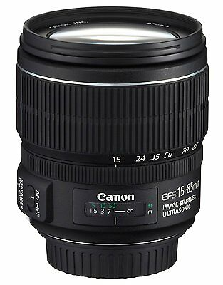 Canon EF-S 15-85mm f/3.5-5.6 IS USM Objektiv NEU OVP