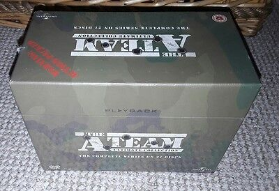 The A-Team: The Complete Series 1-5 DVD Boxset NEW & SEALED