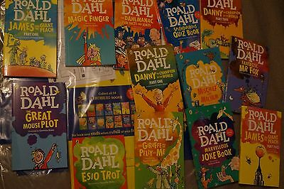 The Twits Roald Dahl Book Box Set X14 Books And Case Children Book Brand New