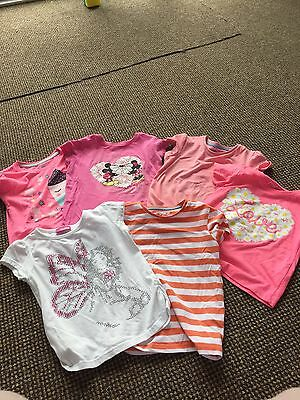 Summer Girls T-Shirt Bundle 3-4/4-5 Years