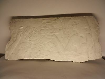 Antique Large 19th C Egyptian Plaster Cast From American Museum