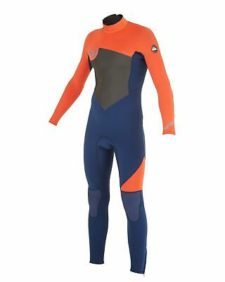 NEW QUIKSILVER™  Boys 2-16 Syncro 3/2MM Steamer Wetsuit 2015 Boys Teens Ski