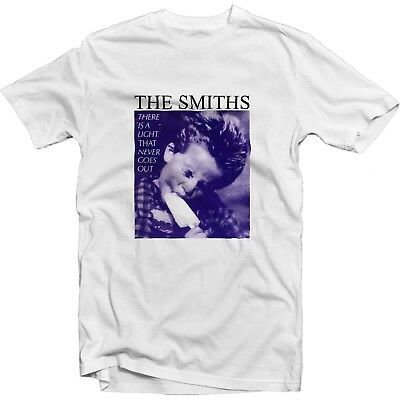 The Smiths There Is A Light That Never Goes Out Rock Music Band CD T Shirt