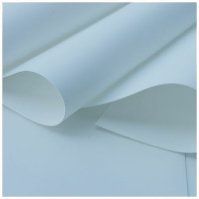 SILK FOAMIRAN 25x35 cm White Foam Sheet For Making Flowers