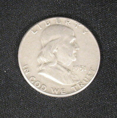 1951 Silver Franklin Half Dollar Very Very Nice #253