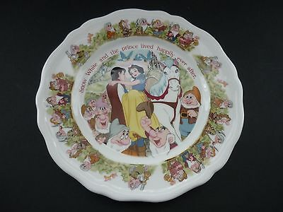 Aynsley Disney Snow White & Seven Dwarfs 7 Inch Plate Boxed In Mint Condition