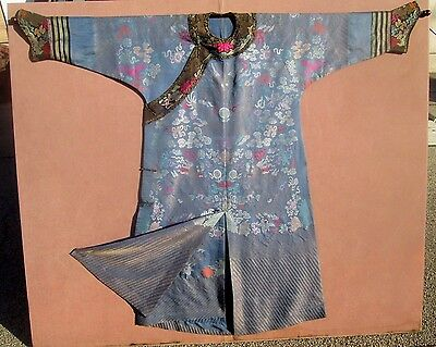 Antique Chinese Imperial Silk Brocade Kesi Robe-Qing Dynasty 5 Toed Dragon 19th