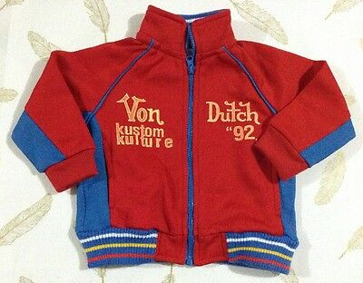 Von Dutch Baby Boys Jumper Size 3-6 Months New