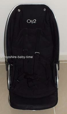 Oyster 2 Black upper seat unit - Also fits Oyster Max & original Oyster chassis