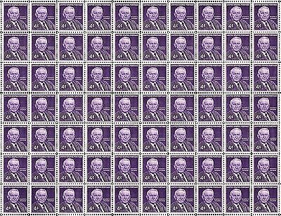 1960 - WALTER F. GEORGE - Fault-Free Mint NH Sheet of 70 U.S. Postage Stamps