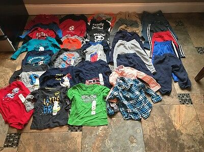 Lot Of Boys Clothes-size 24 Months